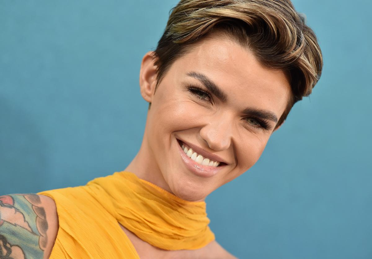 Ruby Rose attends the premiere of Warner Bros. Pictures and Gravity Pictures' 'The Meg' at TCL Chinese Theatre IMAX on August 6, 2018 in Hollywood, California.