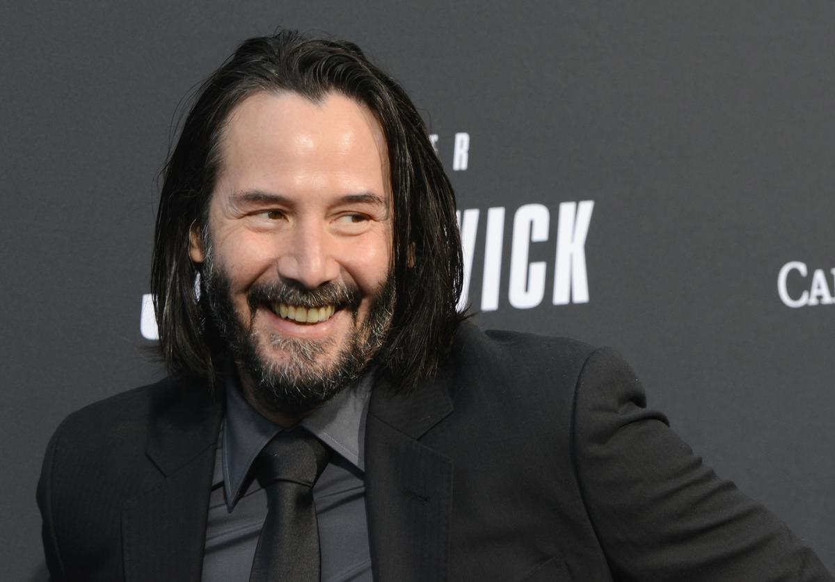 """Keanu Reeves arrives for the Special Screening Of Lionsgate's """"John Wick: Chapter 3 - Parabellum"""" held at TCL Chinese Theatre on May 15, 2019 in Hollywood, California"""