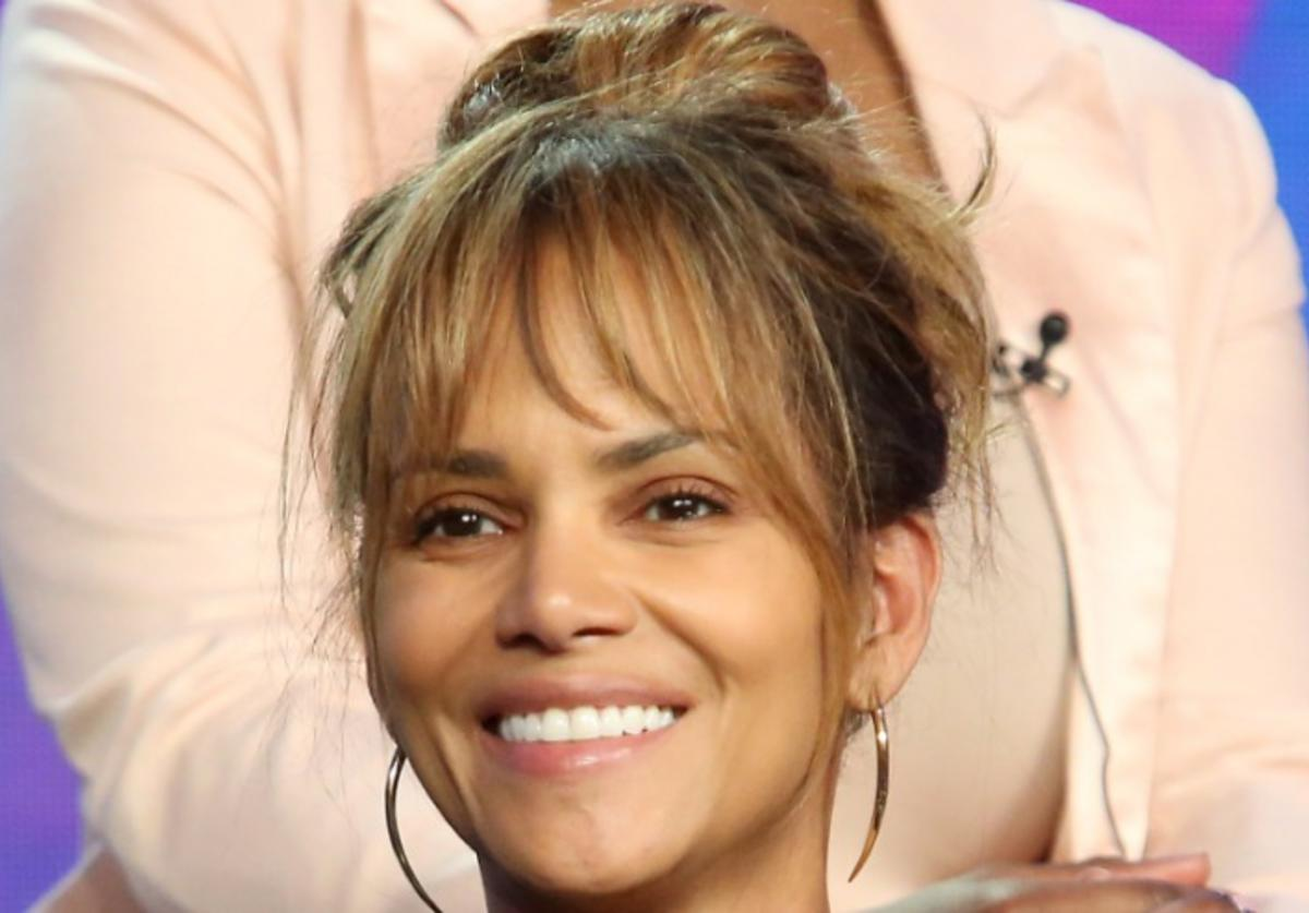 Executive producer Halle Berry attends the Viacom Winter TCA 2019 panel on February 11, 2019 in Pasadena, California.