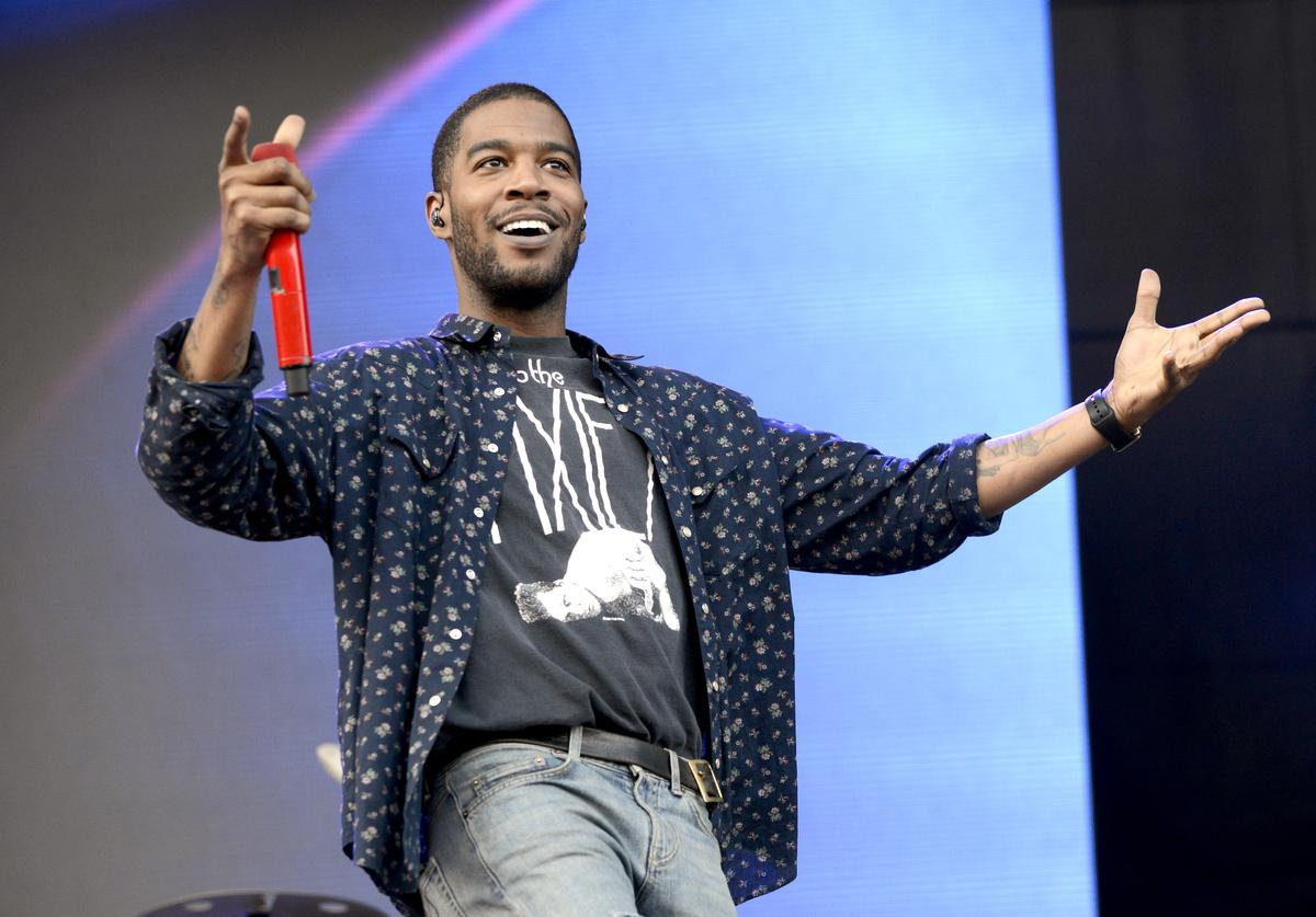 Kid Cudi performs during Lollapalooza at Grant Park on August 1, 2015 in Chicago, Illinois.