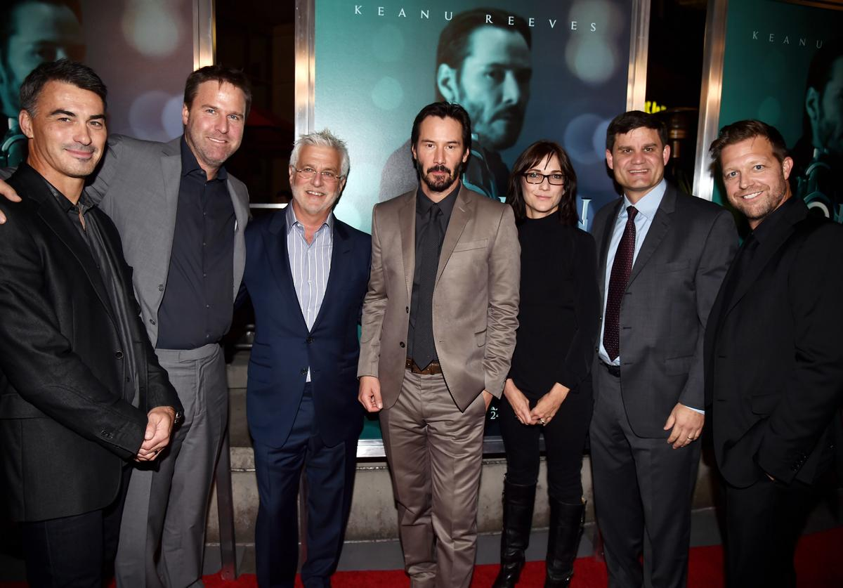 """John Wick"" at the Arclight Theatre on October 22, 2014 in Los Angeles, California."