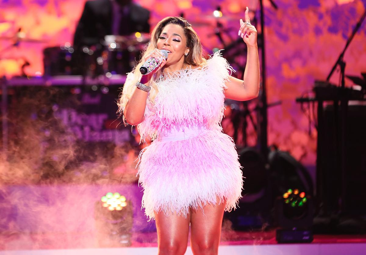 """Ashanti performs during VH1's Annual """"Dear Mama: A Love Letter To Mom"""""""