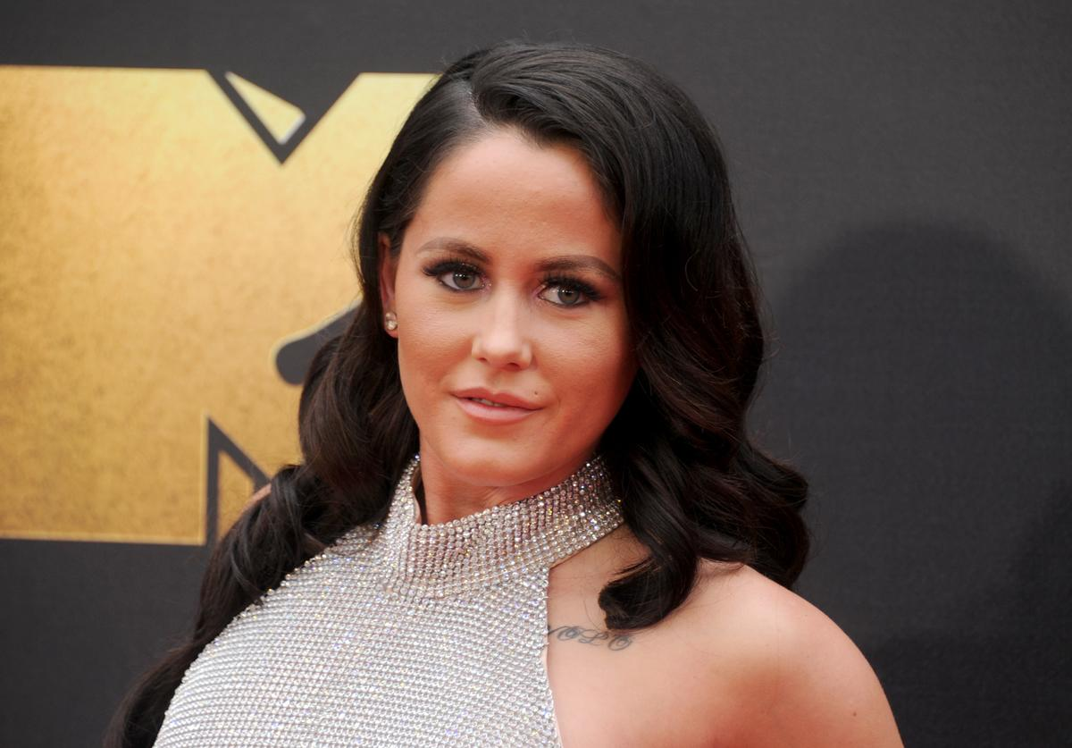 Jenelle Evans arrives at the 2016 MTV Movie Awards at Warner Bros. Studios on April 9, 2016 in Burbank, California.