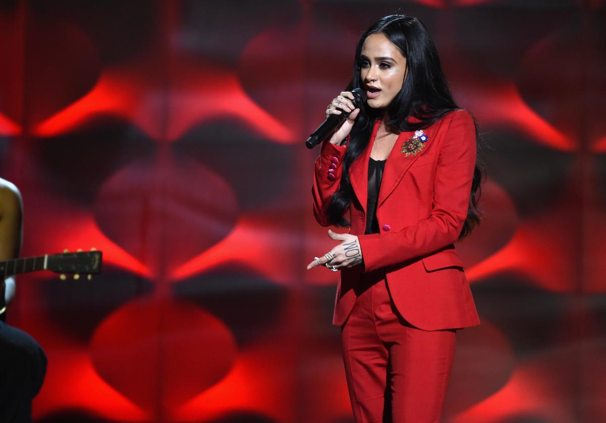 Honoree Kehlani performs onstage at Billboard Women In Music 2017 at The Ray Dolby Ballroom at Hollywood & Highland Center