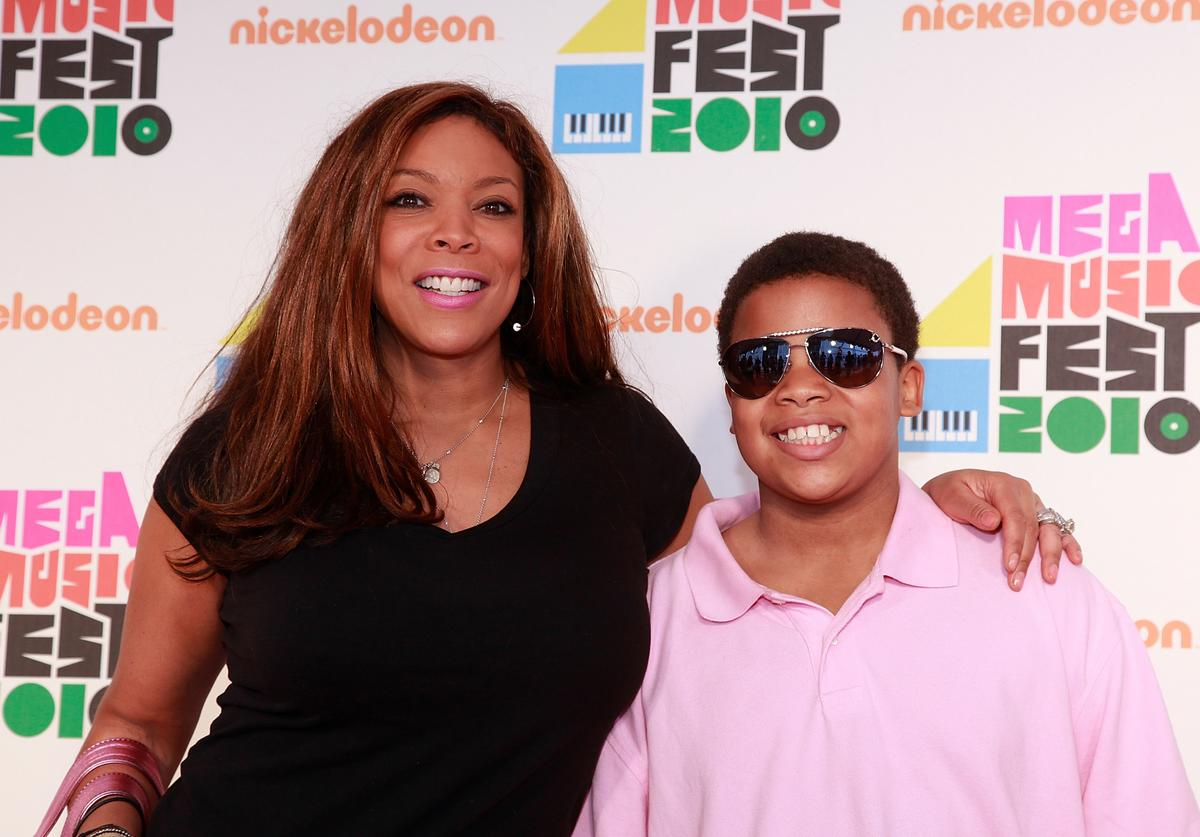 Wendy Williams and son Kevin Hunter, Jr. attend the Nickelodeon Mega Music Fest at the Brooklyn Academy of Music on May 22, 2010 in the Brooklyn borough of New York City