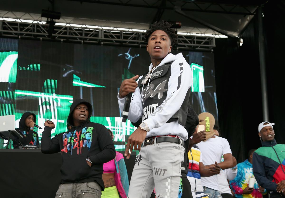 Youngboy Never Broke Again performs in concert during JMBLYA Dallas at Fair Park on May 3, 2019 in Dallas, Texas.
