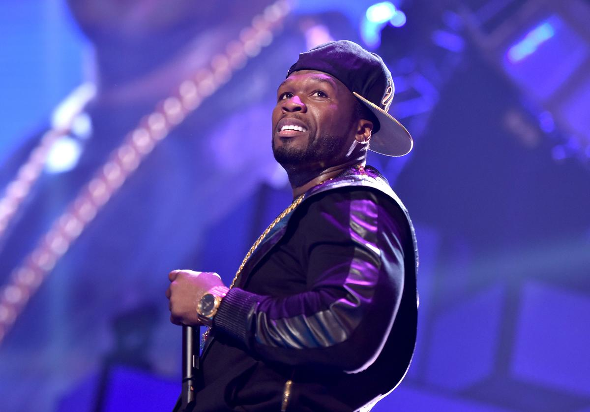 Curtis '50 Cent' Jackson of the music group G-Unit performs onstage during the 2014 iHeartRadio Music Festival at the MGM Grand Garden Arena on September 20, 2014 in Las Vegas, Nevada