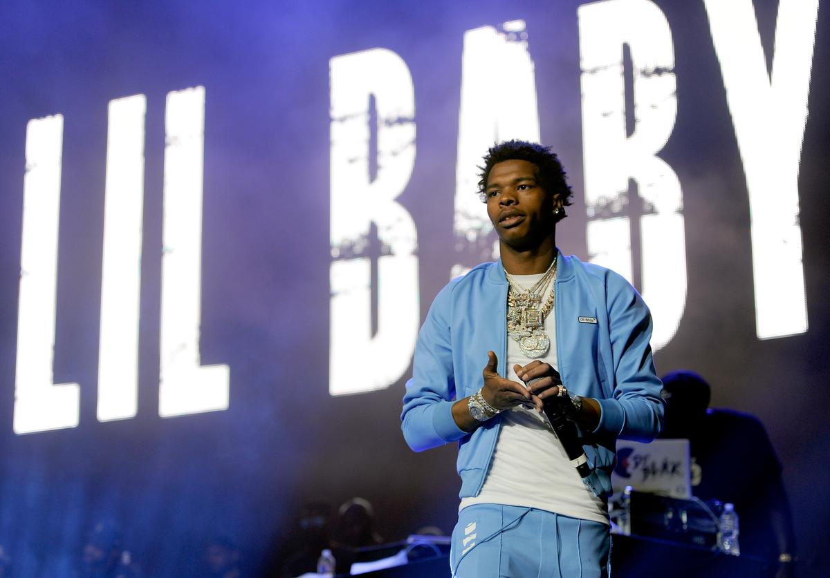 Lil Baby performs onstage during the 6th Yo Gotti Birthday Bash at FedExForum on June 28, 2018 in Memphis, Tennessee.
