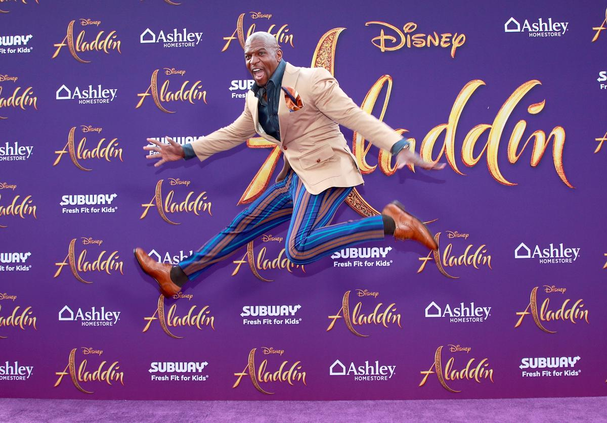 """Terry Crews attends the premiere of Disney's """"Aladdin"""" on May 21, 2019 in Los Angeles, California"""