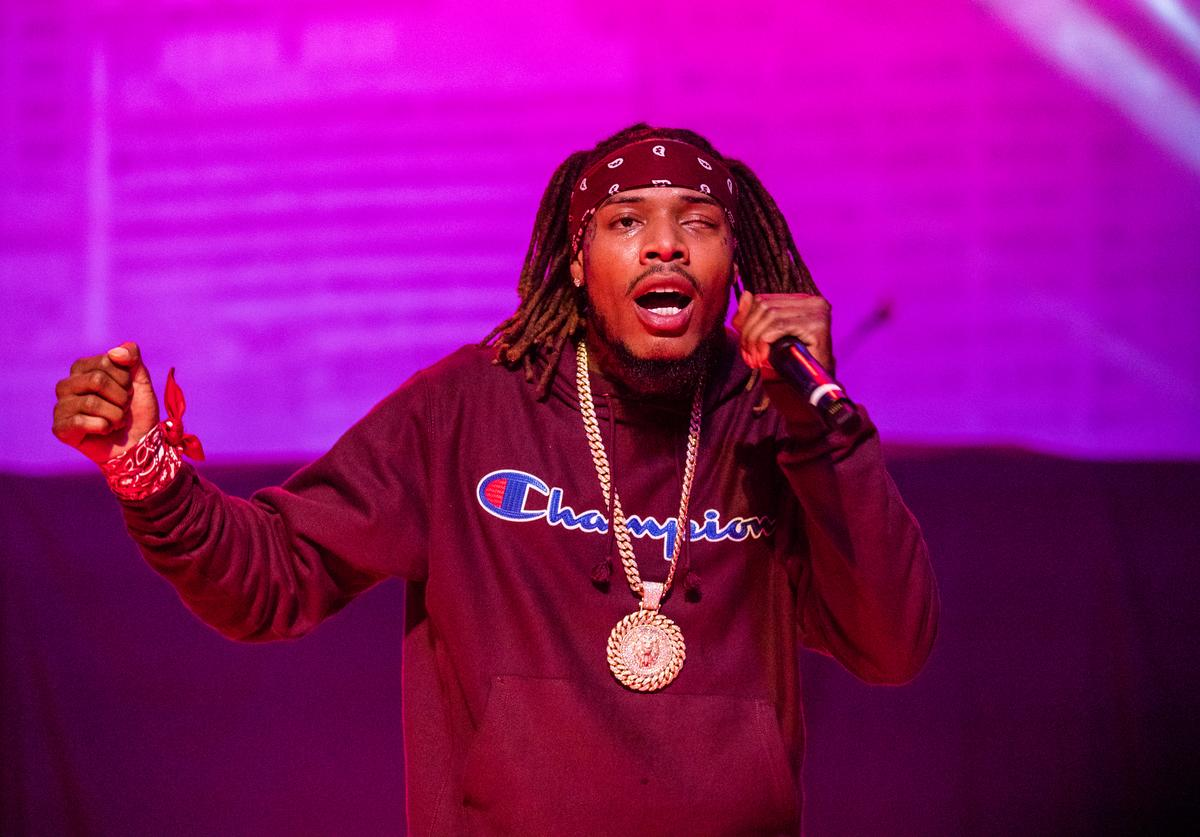 Fetty Wap performs at Orpheum Theater on December 28, 2018 in New Orleans, Louisiana.