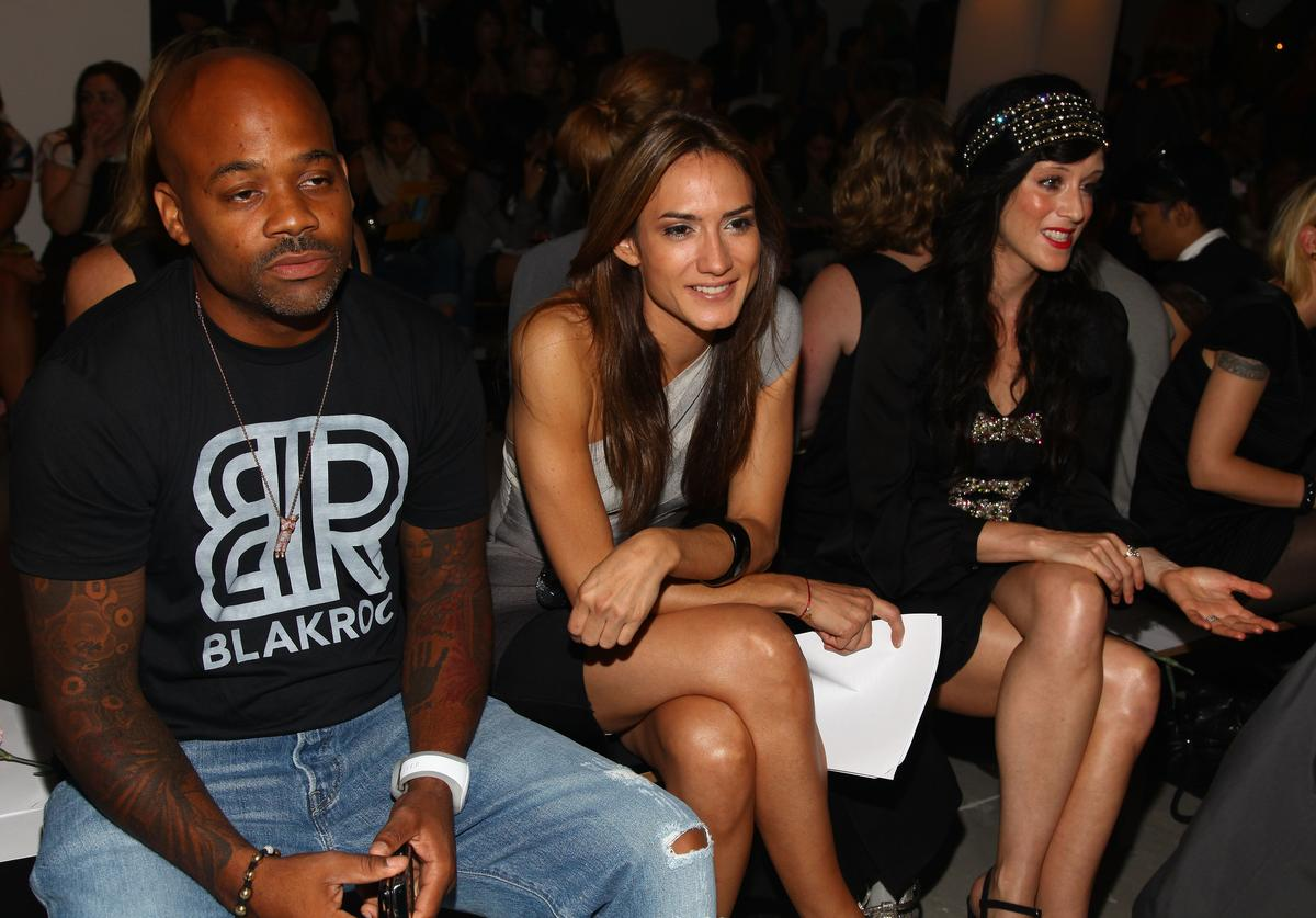 Damon Dash, Zani Gugelmann and Sarah Sophie Flicker attend Erin Fetherston Spring