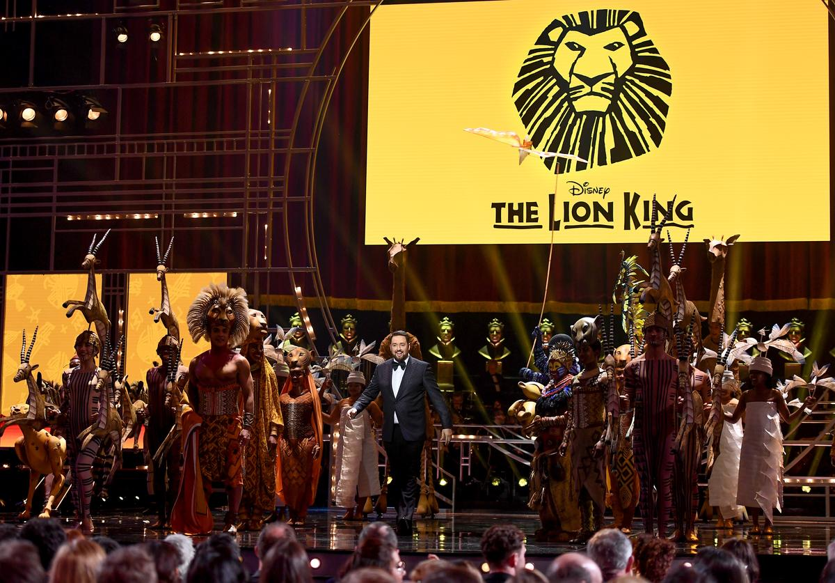 The Lion King during The Olivier Awards 2019