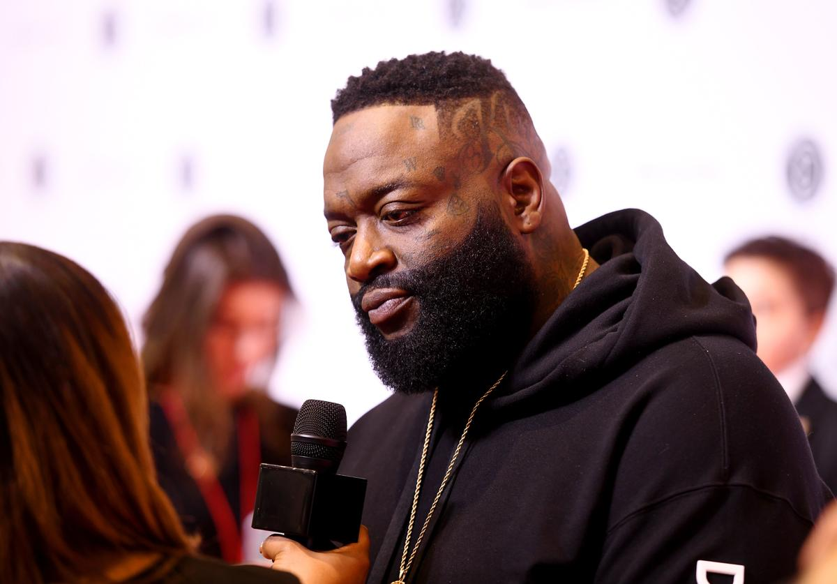 Rick Ross attends Beautycon Festival New York 2019 at Jacob Javits Center on April 06, 2019 in New York City.
