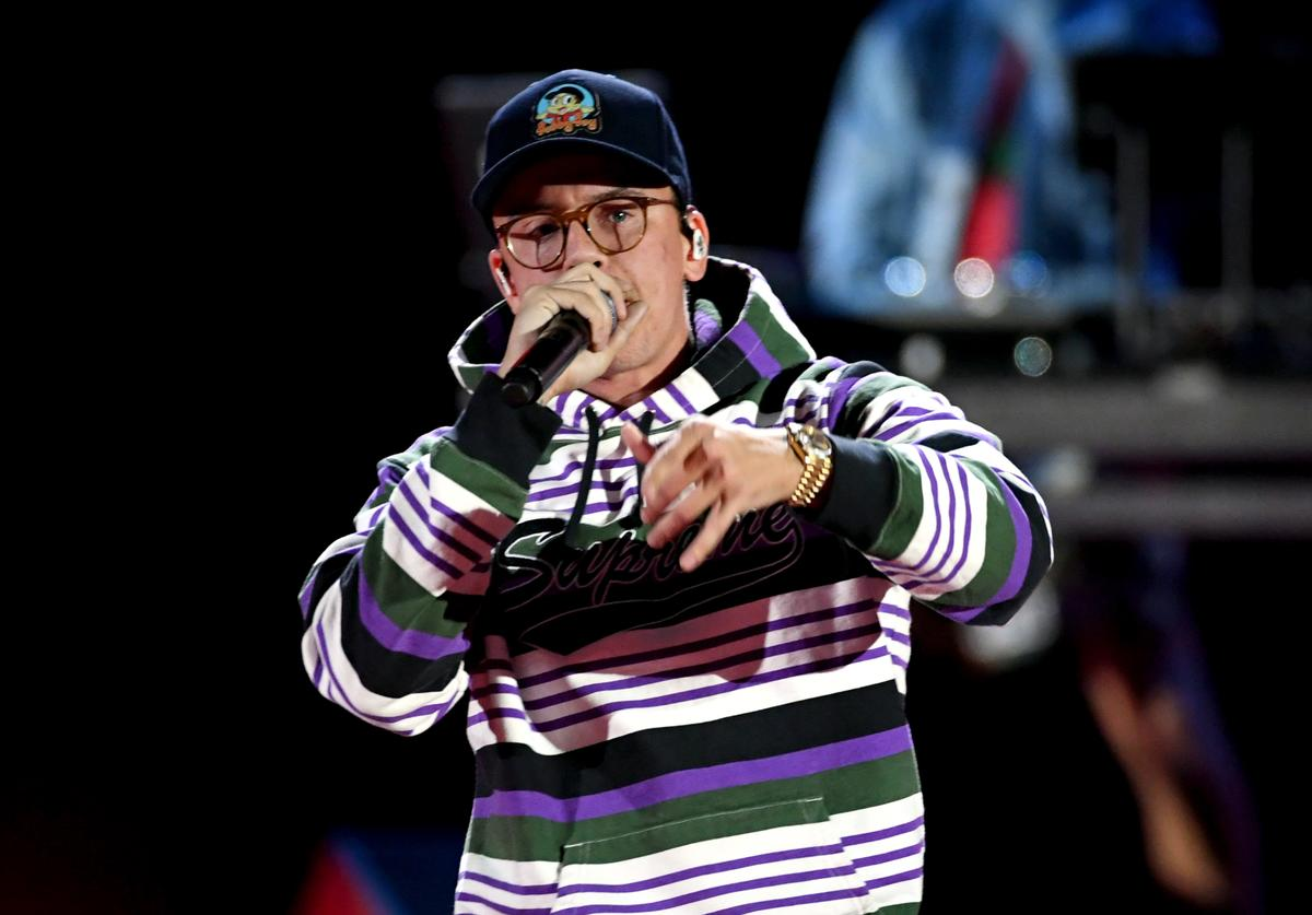 Logic performs onstage during the 2018 iHeartRadio Music Festiva