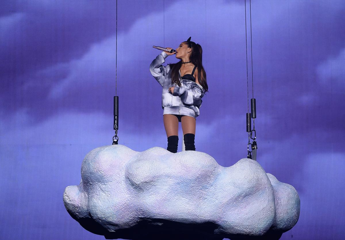 Ariana Grande performs onstage at Madison Square Garden on March 20, 2015 in New York City