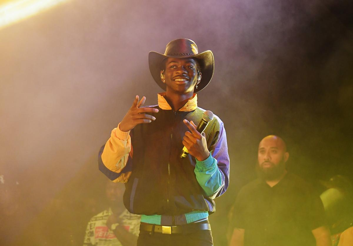 Lil Nas X performs at Summer Jam 2019 at MetLife Stadium