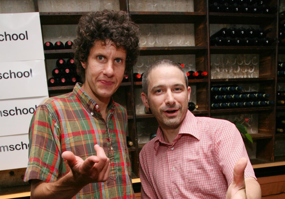 Beastie Boys' Mike D and Adam