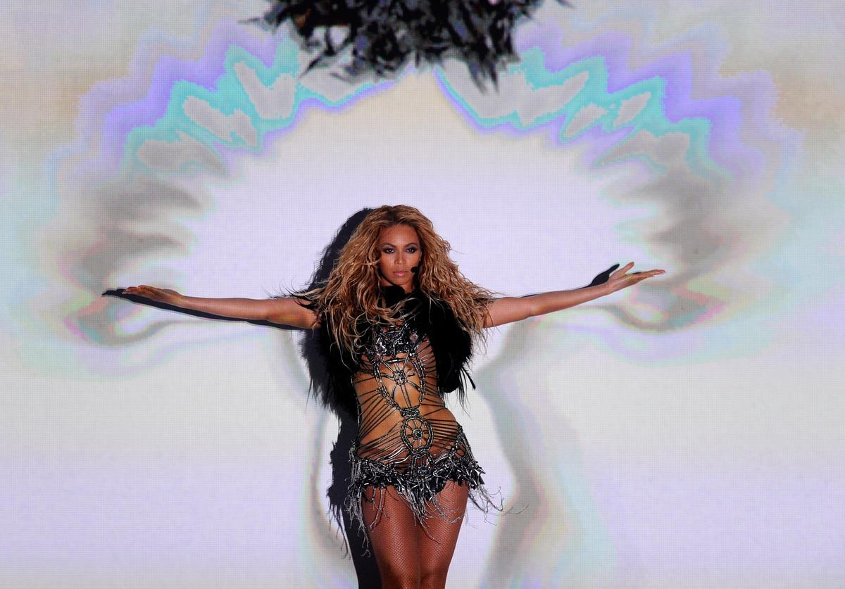 Singer Beyonce Knowles performs during the 2011 Billboard Music Awards at the MGM Grand Garden Arena