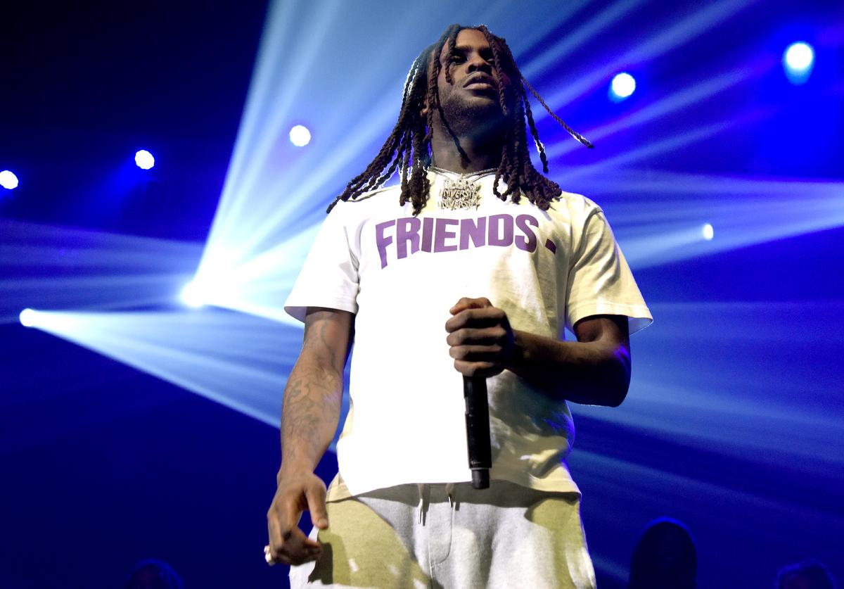 "Chief Keef performs during ""Berner Presents Hippie Hill"" at Bill Graham Civic Auditorium on April 20, 2018 in San Francisco, California"