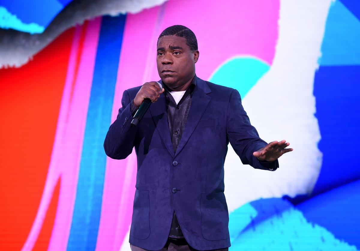 Tracy Morgan of TBS's The Last O.G speaks onstage during the WarnerMedia Upfront 2019 show