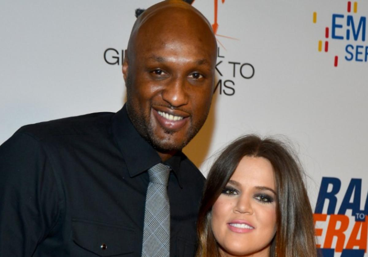 NBA player Lamar Odom and TV personality Khloe Kardashian arrive at the 19th Annual Race to Erase MS held at the Hyatt Regency Century Plaza on May 18, 2012 in Century City, California.