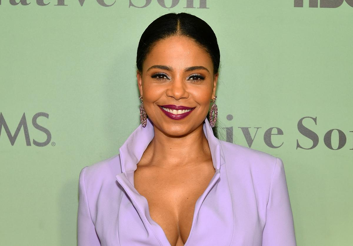 """Actress Sanaa Lathan attends HBO's """"Native Son"""" screening at Guggenheim Museum on April 1, 2019"""
