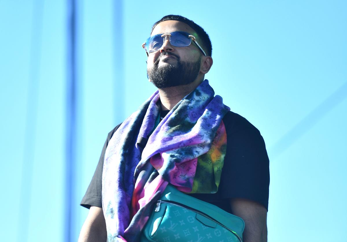 NAV performs onstage during Weekend 1, Day 1 of the 2019 Coachella Valley Music and Arts Festival on April 12, 2019 in Indio, California