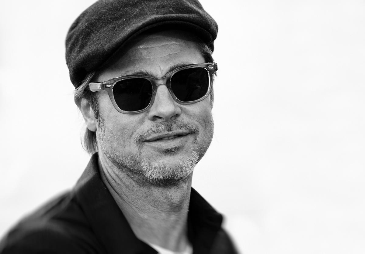 "Brad Pitt attends the photocall for ""Once Upon A Time In Hollywood"""