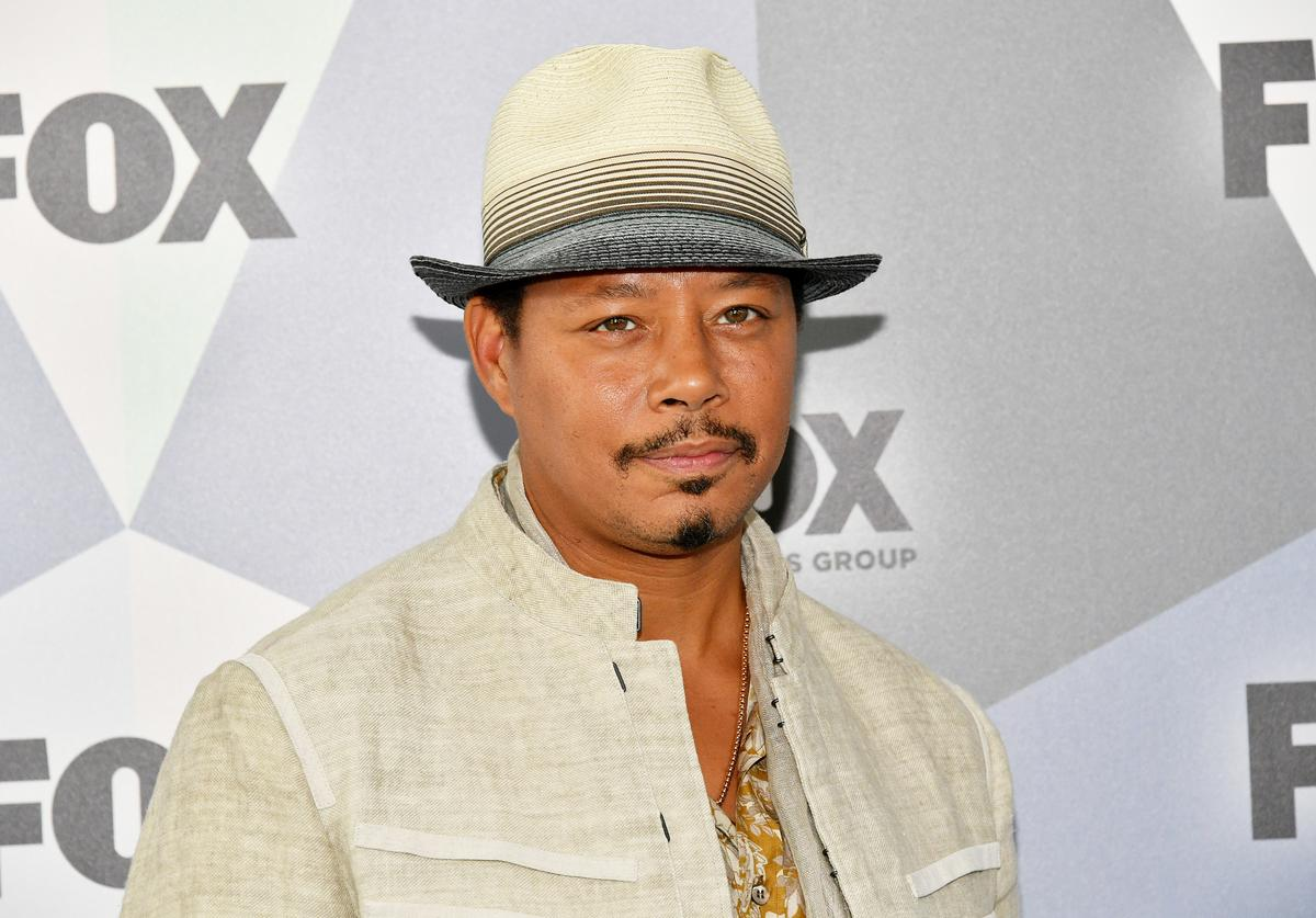 Terrence Howard attends the 2018 Fox Network Upfront at Wollman Rink, Central Park on May 14, 2018 in New York City.