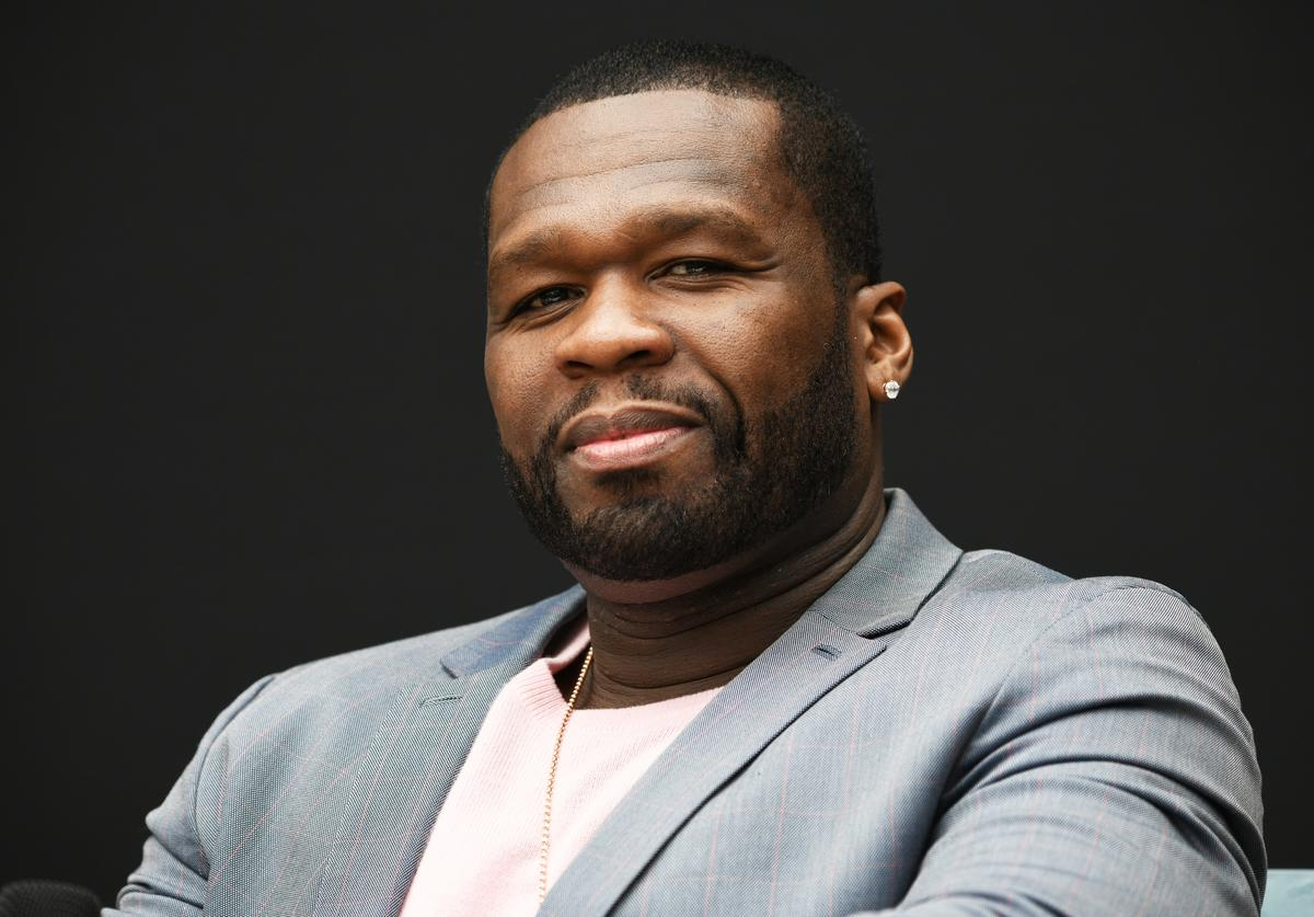 50 Cent speaks onstage at the 'Power' Panel during Starz FYC 2019 — Where Creativity, Culture and Conversations Collide on June 02, 2019 at Westfield Century City in Century City, California