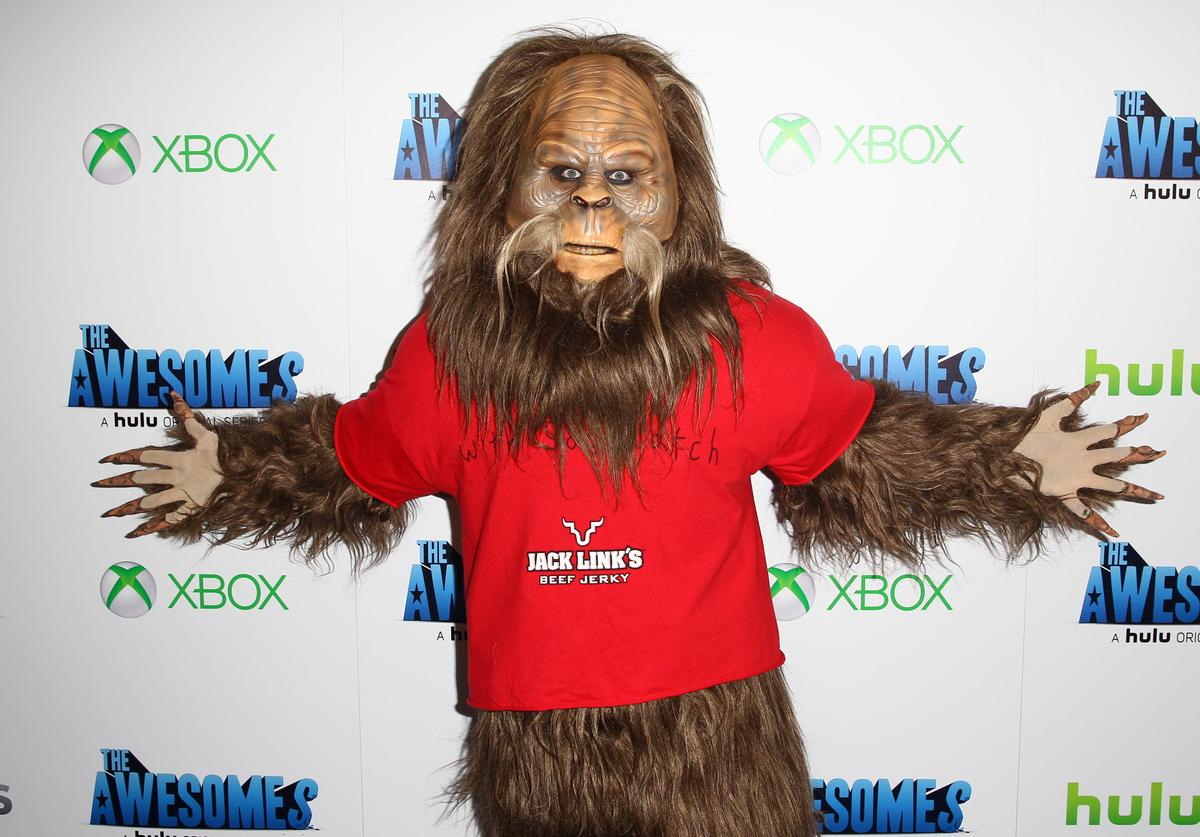 "Sasquatch attends ""The Awesomes"" VIP After-Party sponsored by Hulu and Xbox at Andaz on July 20, 2013 in San Diego, California."