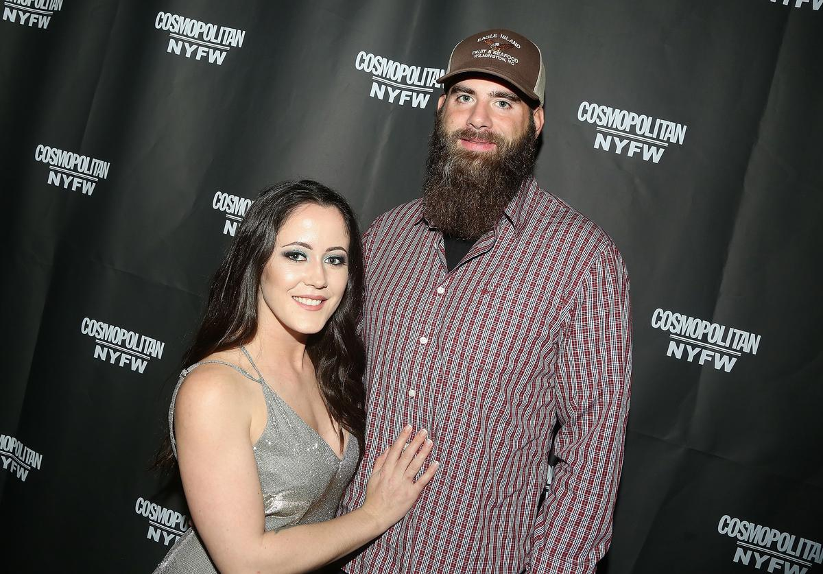 Janelle Evan and David Eason pose at the Cosmopolitan New York Fashon Week #Eye Candy event After Party at Planet Hollywood Times Square on February 8, 2019 in New York City