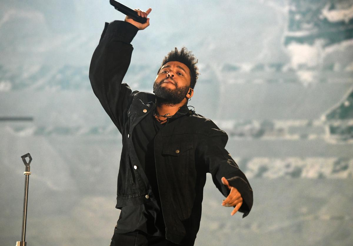 The Weeknd performs onstage during the 2018 Global Citizen Concert at Central Park, Great Lawn on September 29, 2018 in New York City