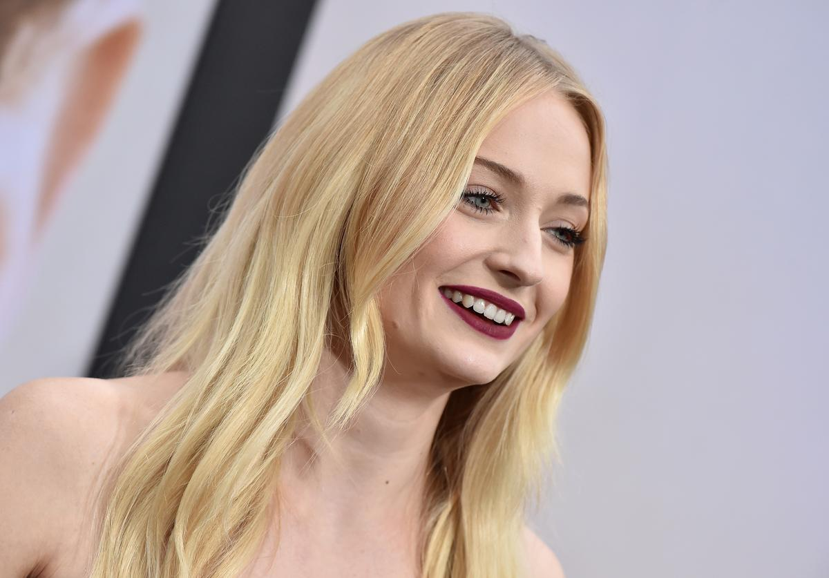 """Sophie Turner attends the premiere of Amazon Prime Video's """"Chasing Happiness"""" at Regency Bruin Theatre on June 03, 2019 in Los Angeles, California."""