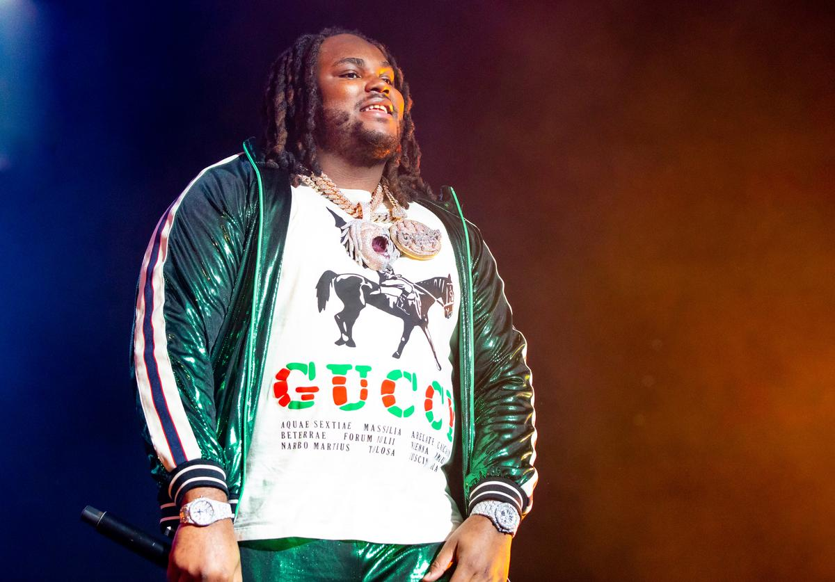 Tee Grizzley performs during the WJBL Big Show at Little Caesars Arena on December 27, 2018 in Detroit, Michigan