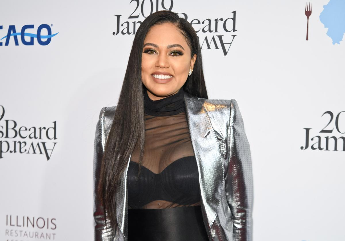 Ayesha Curry attends the 2019 James Beard Awards at Lyric Opera Of Chicago on May 06, 2019 in Chicago, Illinois.