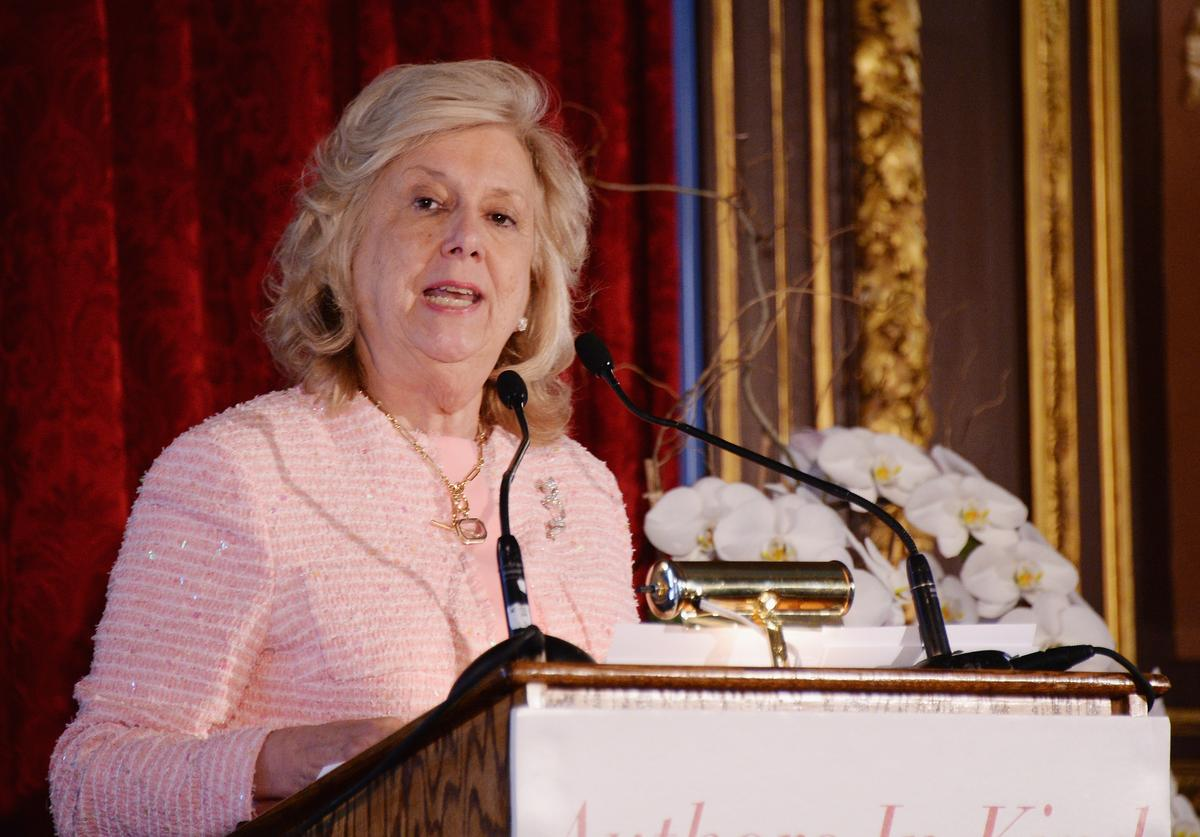 Author Linda Fairstein attends the Twelfth Annual Authors In Kind Literary Luncheon benefitting God's Love We Delive