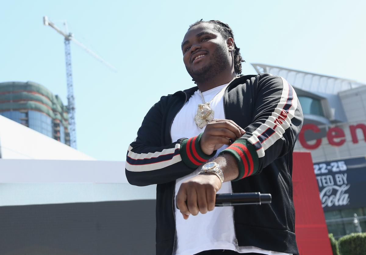Recording artist Tee Grizzley performs onstage at day one of BETX Live!