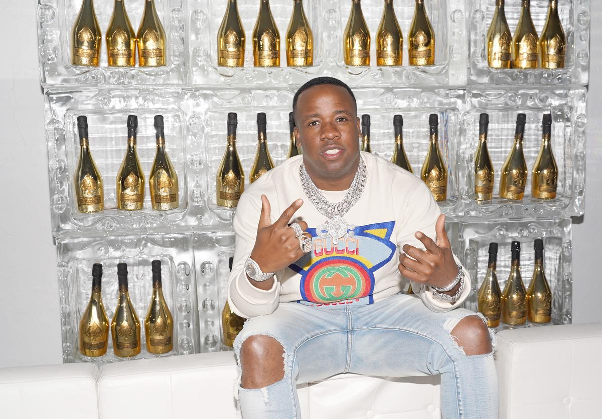 Yo Gotti poses at Yo Gotti and PUMA's Exclusive Preview Party
