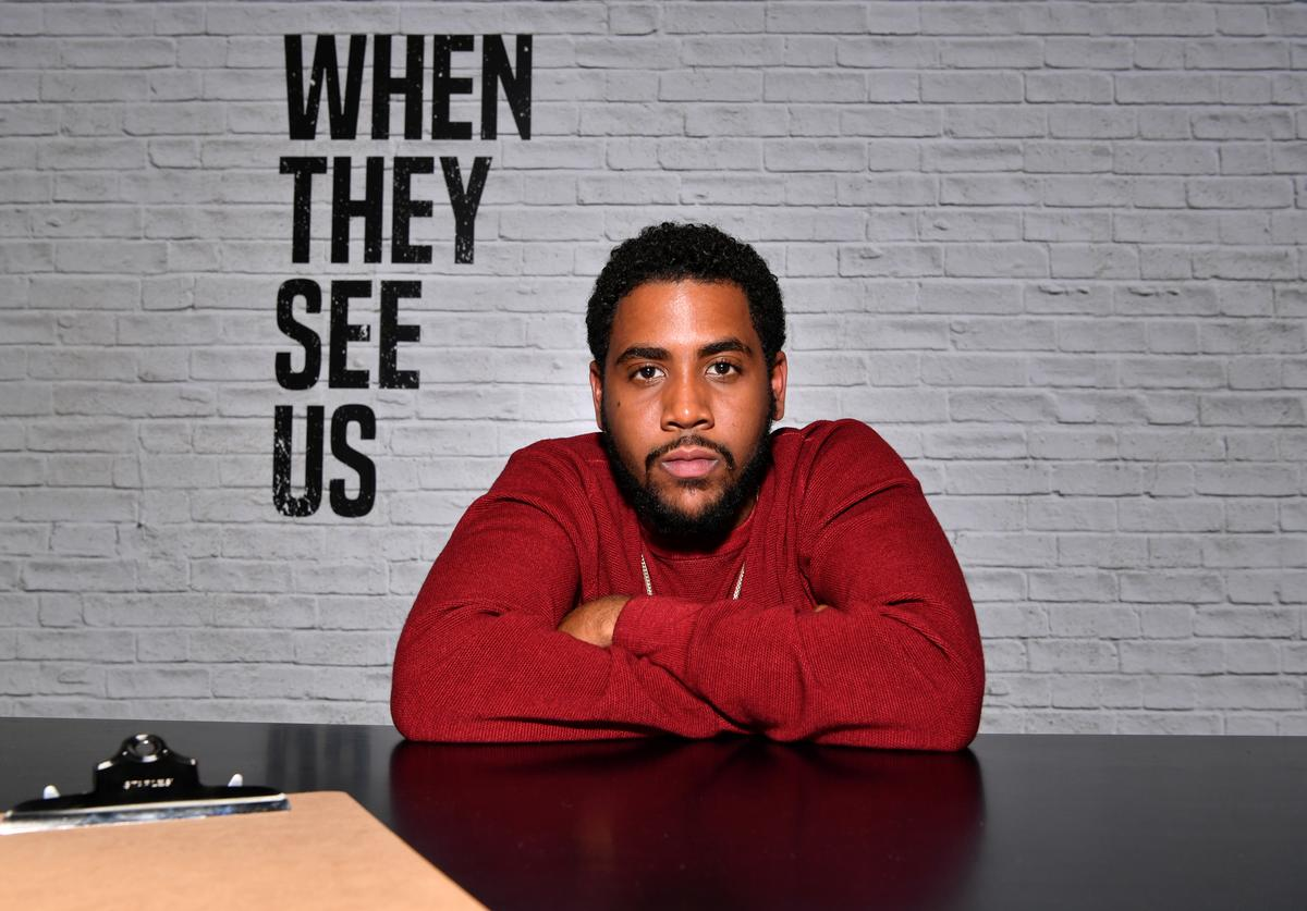 Jharrel Jerome attends the Netflix FYSEE