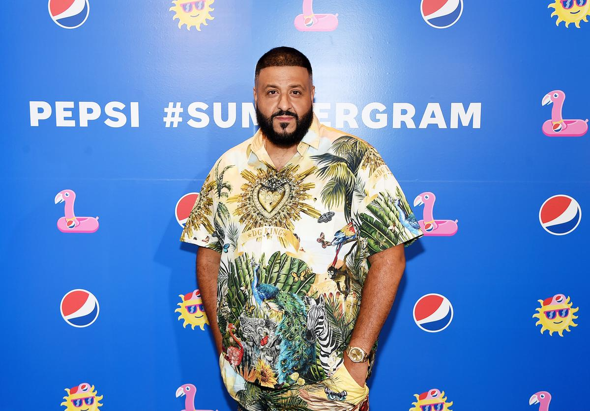 DJ Khaled attends the Pepsi #Summergram Celebration hosted by Chrissy Teigen and featuring DJ set by DJ Khaled at Pier 17 on May 20, 2019 in New York City