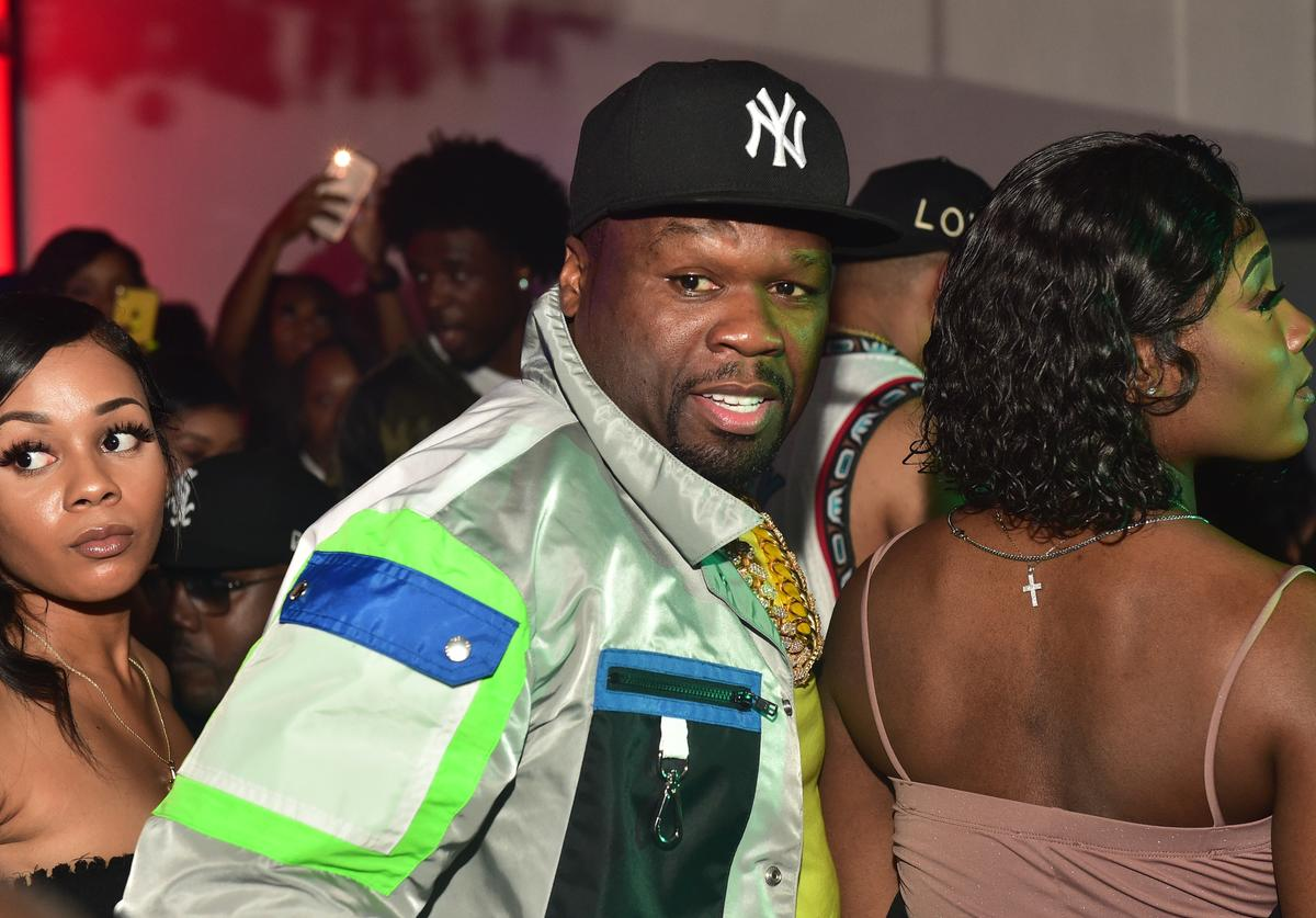 50 Cent attends Compound 15 Year Anniversary Celebration at Compound on June 9, 2019 in Atlanta, Georgia