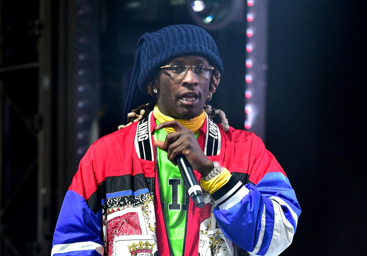 Young Thug performs at 2019 Tycoon Music Festival at Cellairis Amphitheatre at Lakewood on June 8, 2019 in Atlanta, Georgia