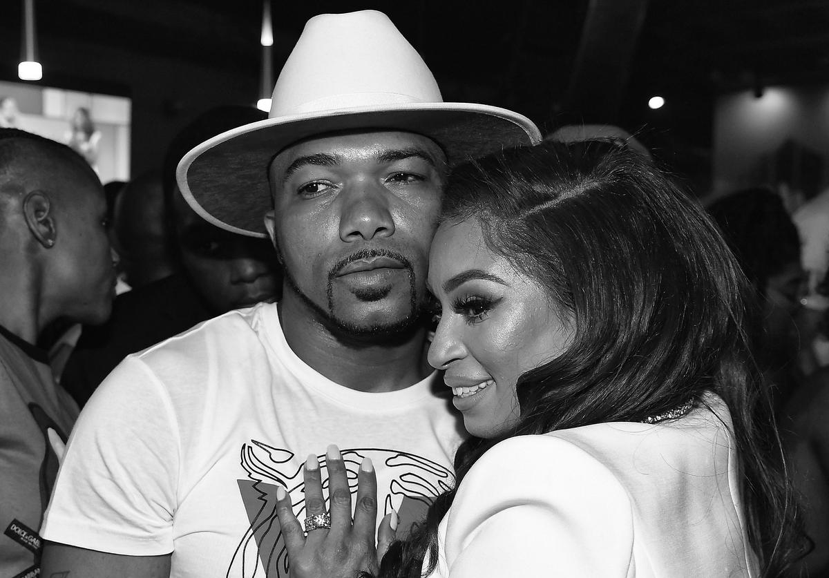 "Maurice ""Mo"" Fayne and Karlie Redd attend ""Ferrari Karlie"" Single"