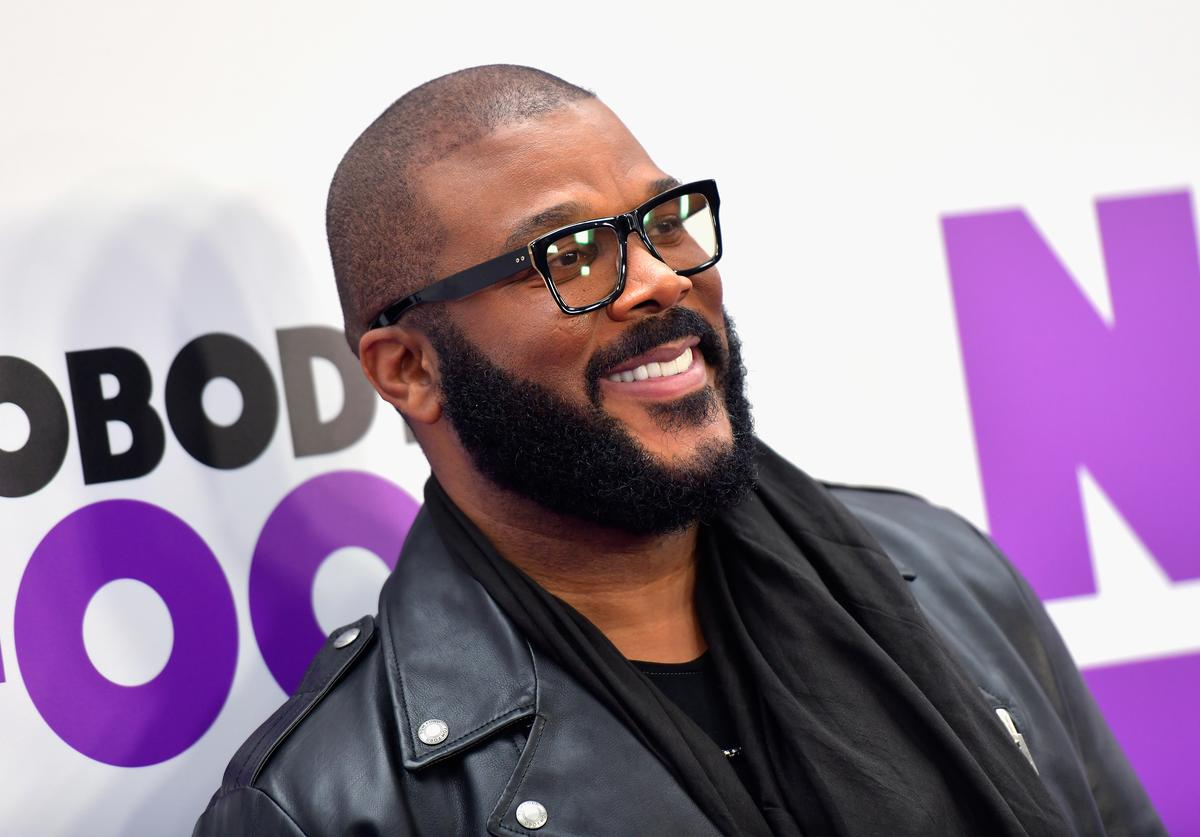 Writer/Director Tyler Perry attends the world premiere of 'Nobody's Fool' at AMC Lincoln Square Theater