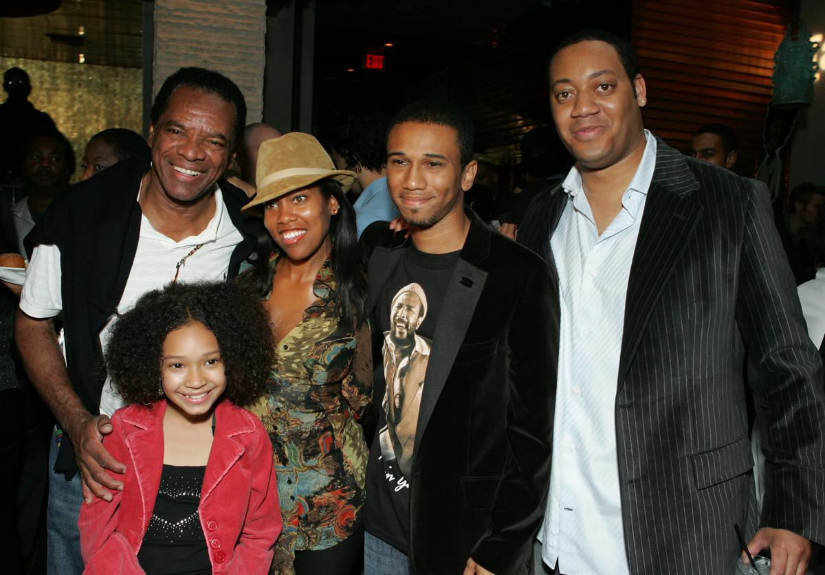 John Witherspoon, Gabby Soleil, Regina King, Creator/Exec. Producer Aaron McGruder and Cedric Yarbrough