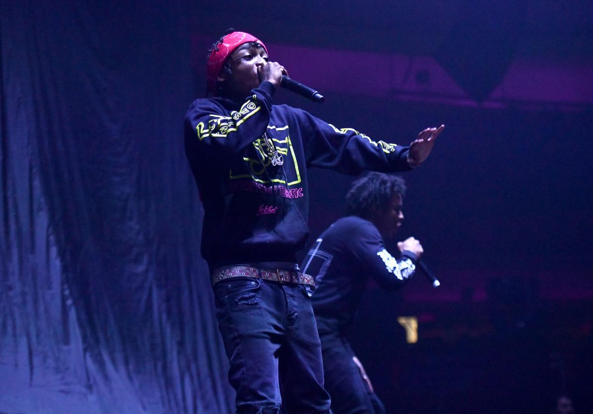 22gz performs onstage at Hollywood Palladium on March 20, 2019 in Los Angeles, California