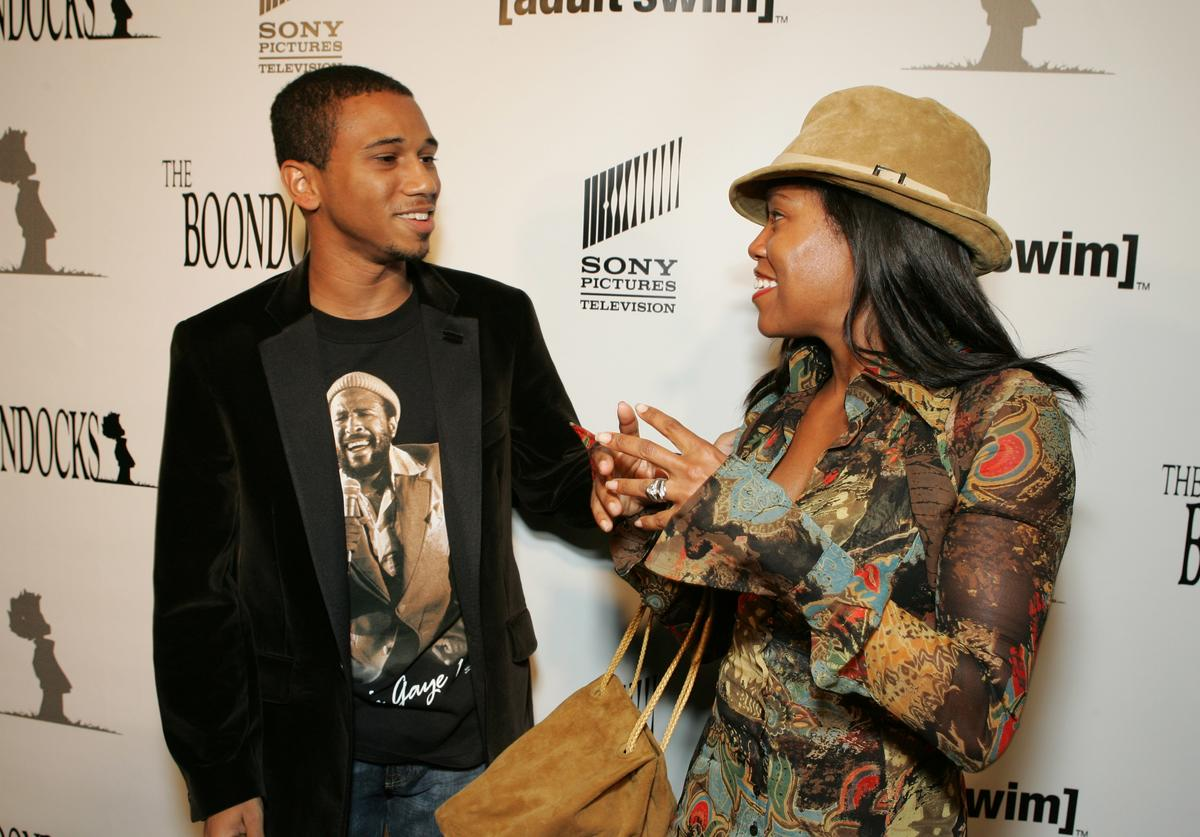 Creator/Exec. Producer Aaron McGruder and Regina King