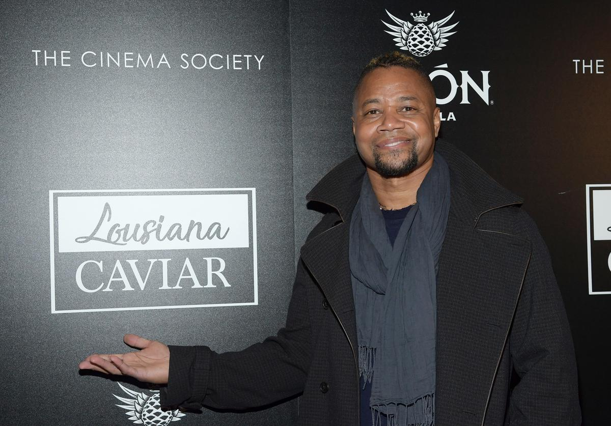 Actor/director Cuba Gooding Jr attends a screening of Louisiana Caviar hosted by The Cinema Society with Avion and Watchbox at iPic Cinema on February 26, 2018 in New York City.