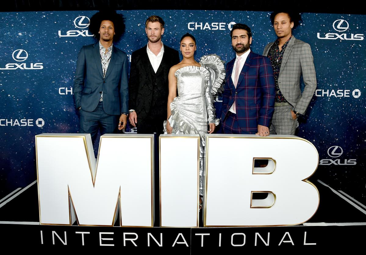 Men in Black: International movie premiere